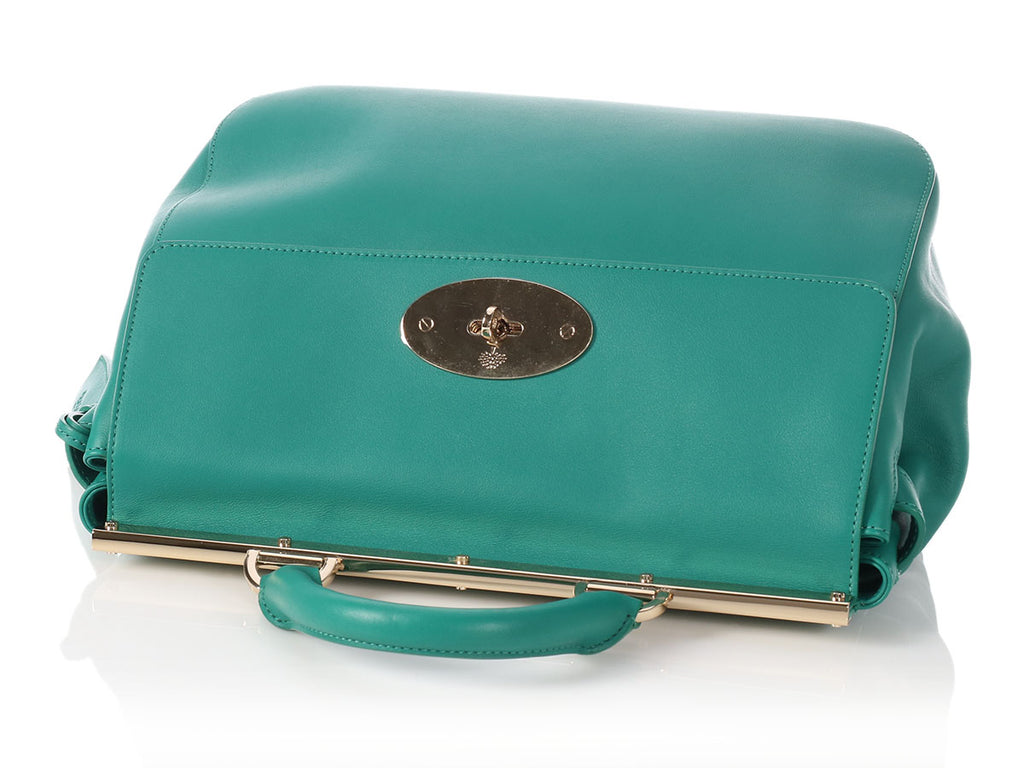 Mulberry Small Emerald Suffolk Bag