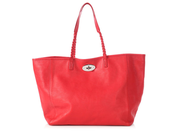 Mulberry Red Dorset Tote