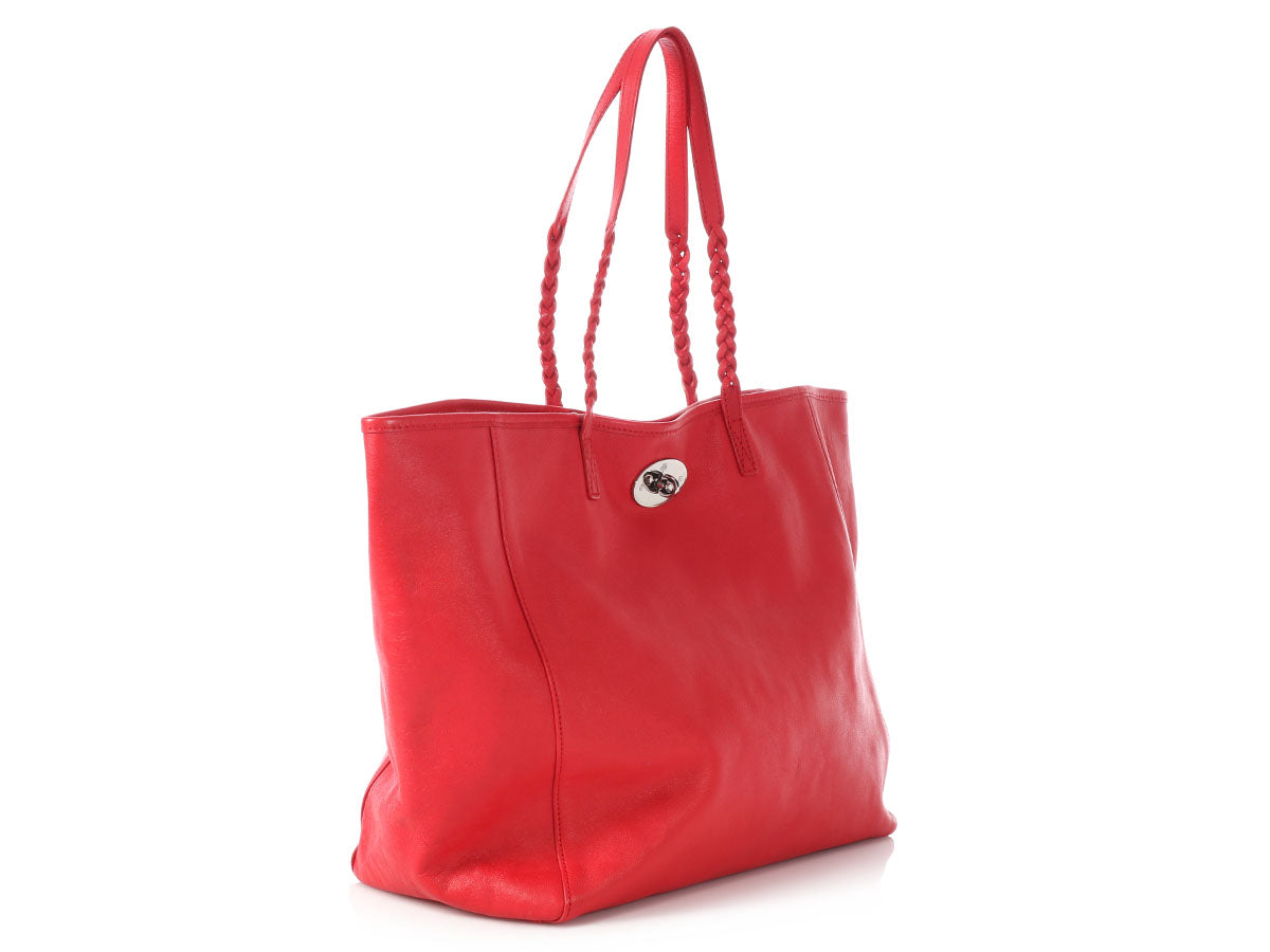 Mulberry Red Dorset Tote - Ann s Fabulous Closeouts 16fe8337fbaab