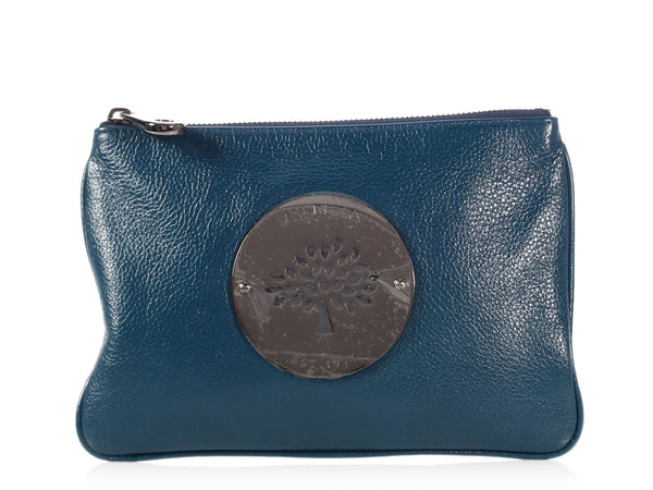 Mulberry Dark Teal Daria Pouch
