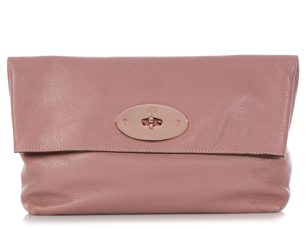 Mulberry Dusty Rose Clemmie Clutch