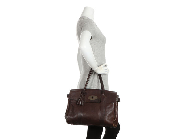 Mulberry Dark Brown Darwin Leather Bayswater