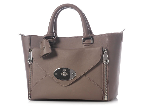Mulberry Small Taupe Willow Tote