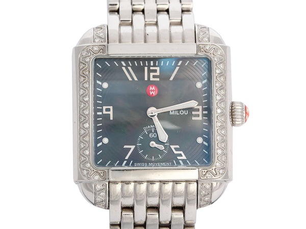 Michele Diamond Milou Watch