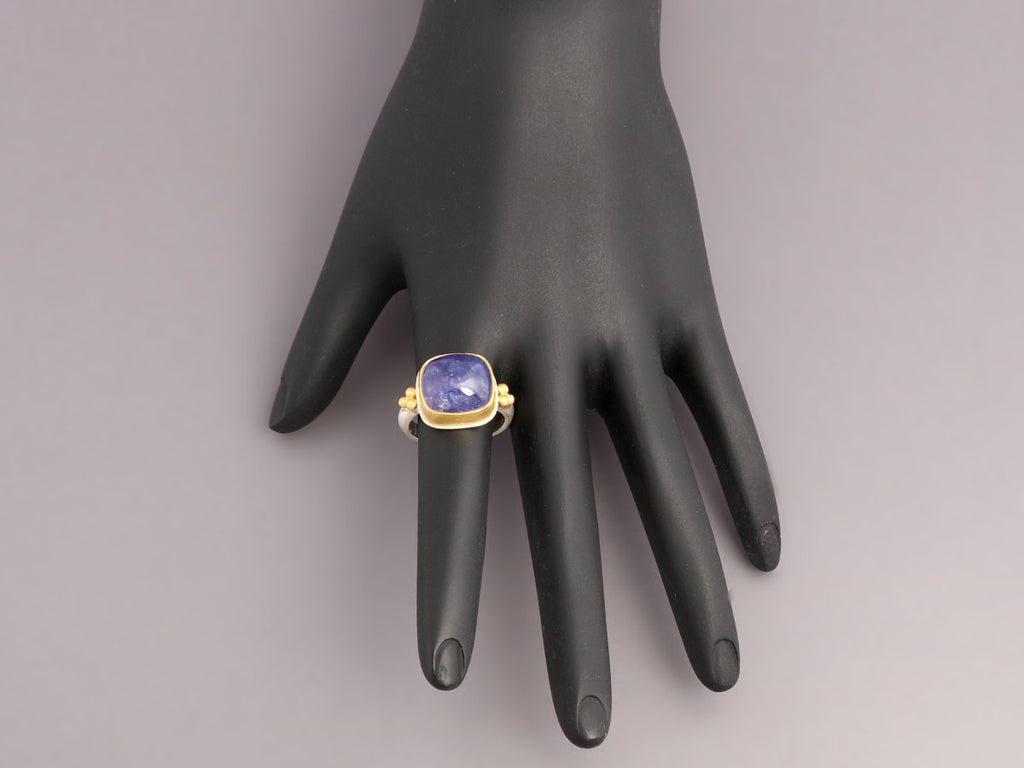 Nancy Troske Tanzanite Rectangle Ring