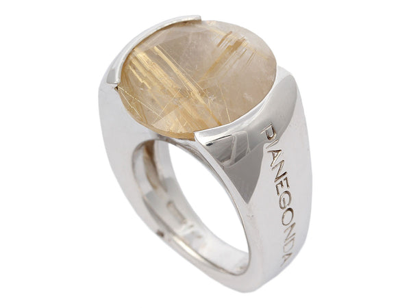 Pianegonda Rutilated Quartz Ring