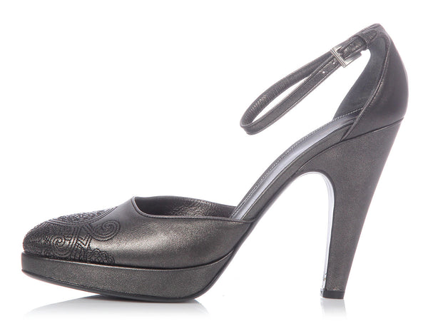 Prada Anthracite Pumps