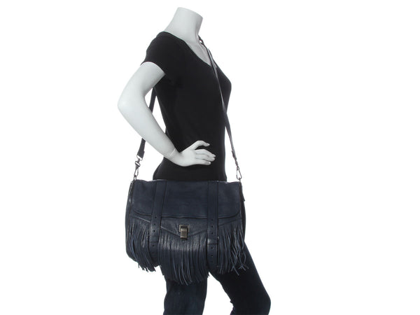 Proenza Schouler Midnight Fringed PS1