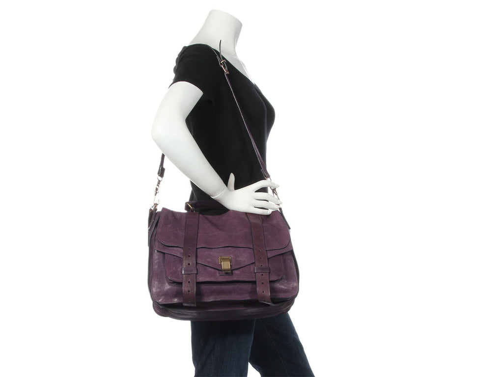 Proenza Schouler Large Purple PS1
