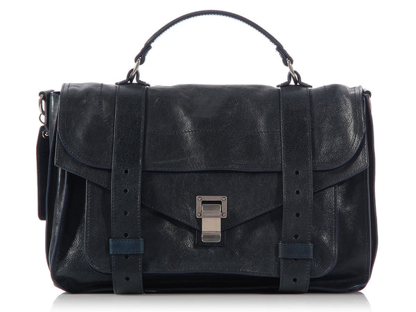 Proenza Schouler Medium Prussian Blue PS1