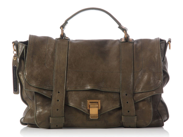 Proenza Schouler Large Olive PS1