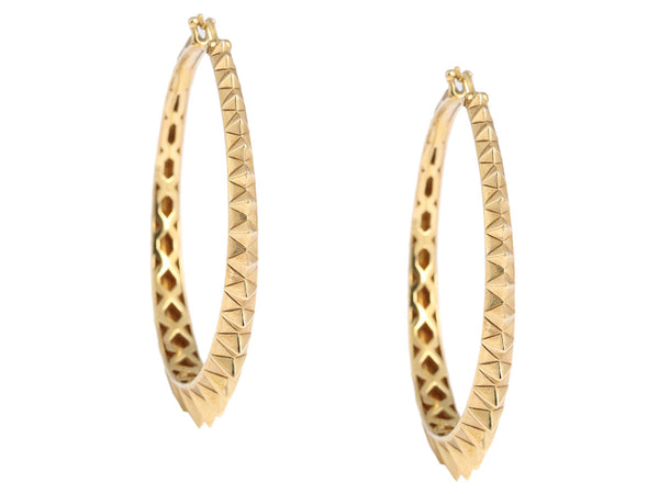 Stephen Webster Vermeil Superstud Hoops