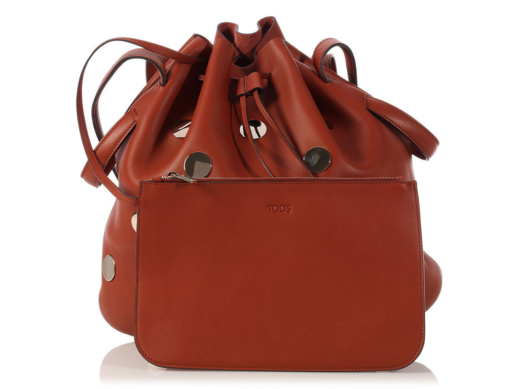 Tod's Brown Secchiello Bag