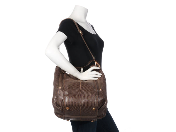 Tod's Brown G Line Sacca Tote