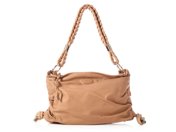 Tod's Camel Softy Bag