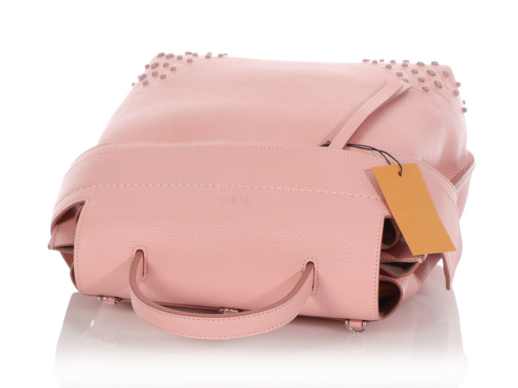 Tod's Pink Wave Backpack