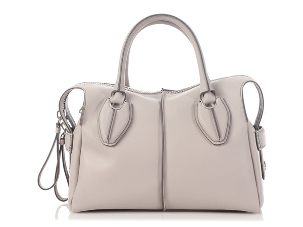 Tod's Small Gray D Styling Bag