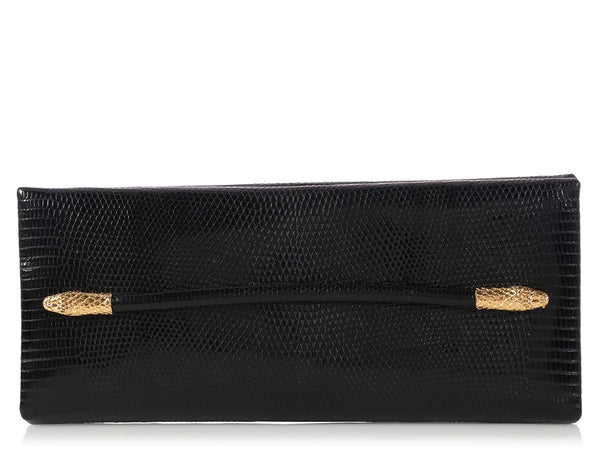 Tom Ford Black Snake Heads Clutch