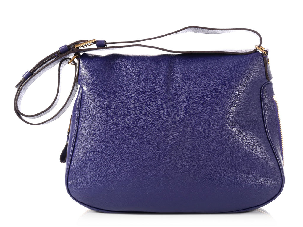 Tom Ford Large Purple Jennifer Bag