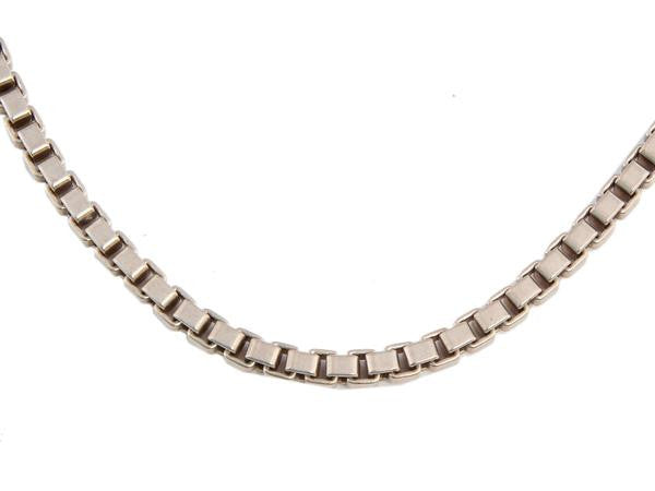 Tiffany & Co. Sterling Venetian Link Necklace