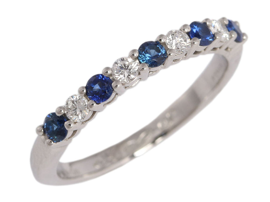 Tiffany & Co. Diamond and Sapphire Embrace Ring
