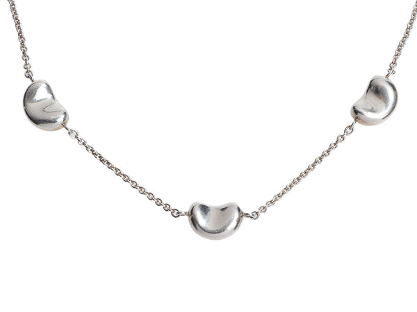 Tiffany & Co. Sterling Silver Elsa Peretti 3-Bean Bracelet