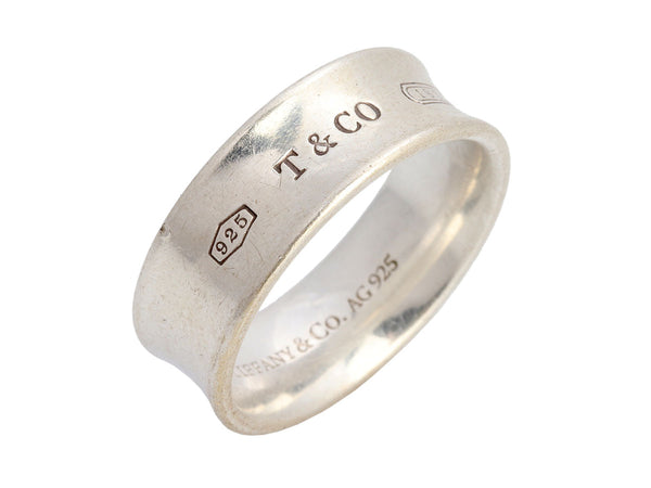 Tiffany & Co. Sterling Silver 1837 Band Ring