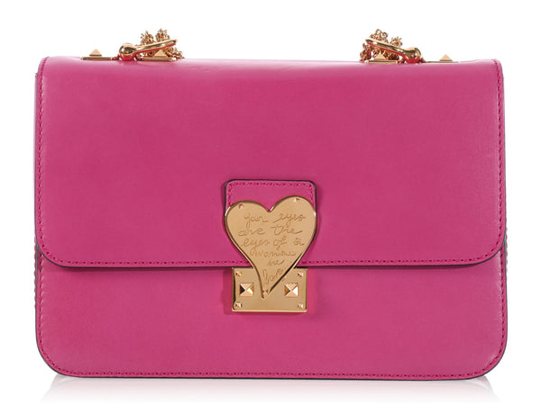 Valentino Pink L'Amour Shoulder Bag