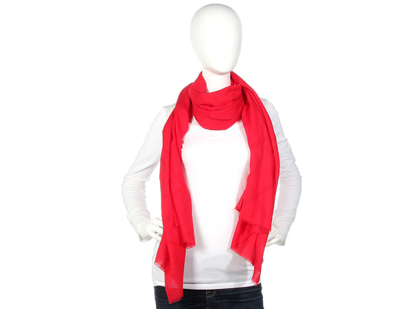 YSL Red Scarf