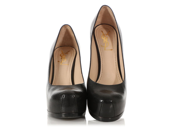 Black Tribtoo 80 Platform Pumps