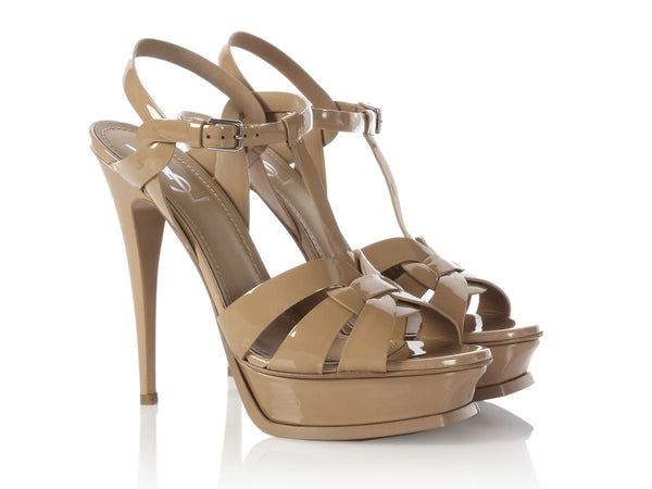 YSL Sable Tribute 105 Sandals
