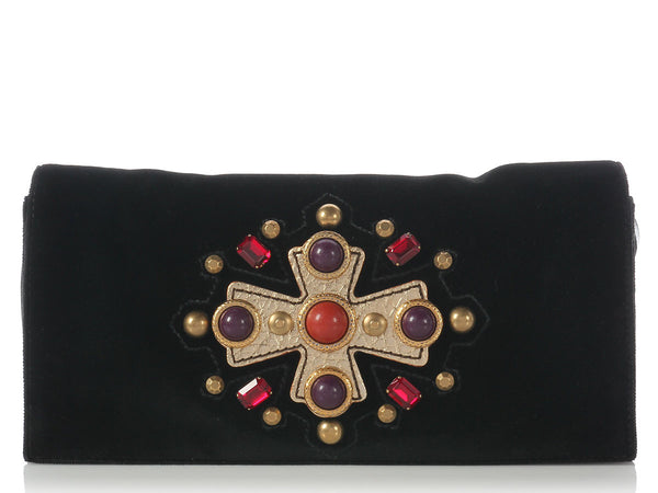 YSL 2005 Jeweled Sac Venise Clutch