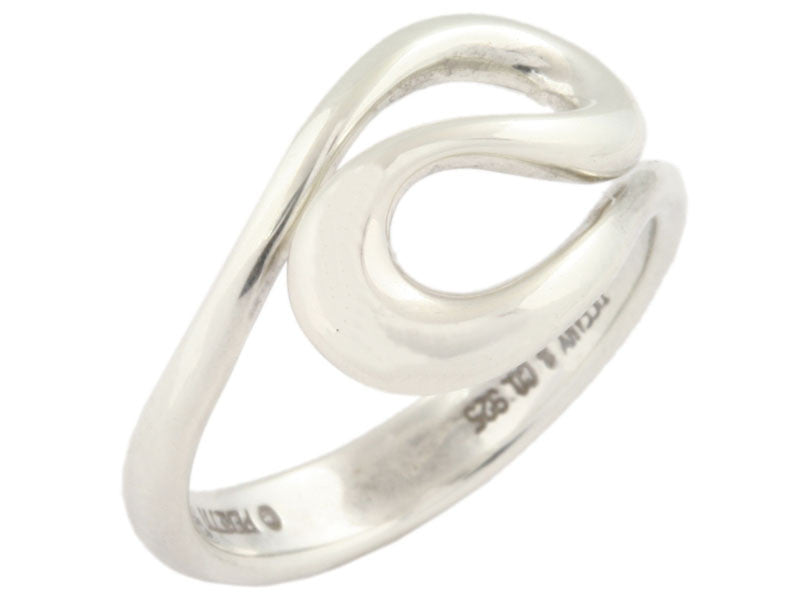 Tiffany & Co Sterling Open Wave Ring