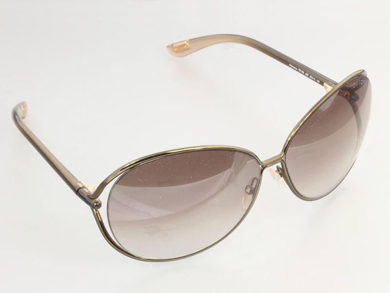 144cd11ab1 Tom Ford Brown Clemence Sunglasses - Ann s Fabulous Closeouts