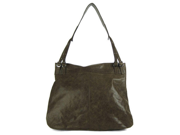 Foley + Corinna Vintage Brown Three Zip Bag