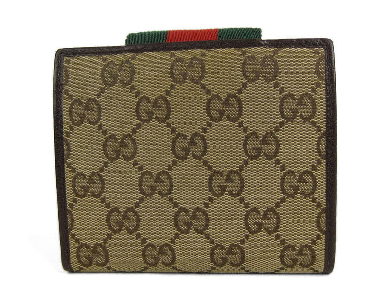 Gucci Monogram Mini Wallet