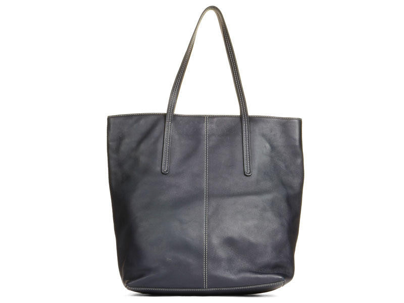 Tod's Navy Toujours Tote