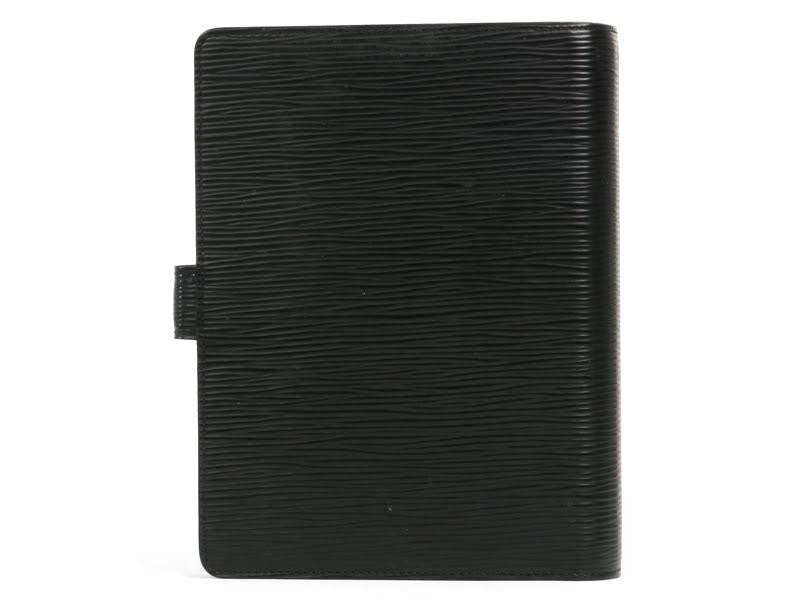 Louis Vuitton Black Epi Agenda