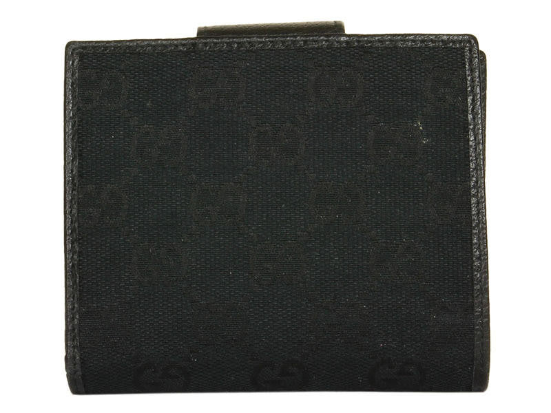 Gucci Black Logo Wallet
