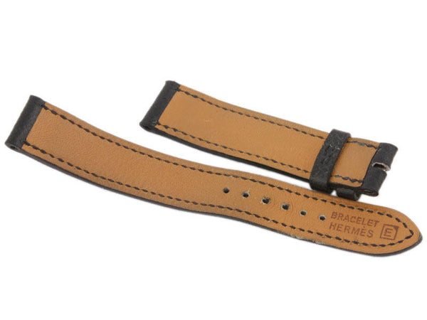 Hermès Black Ladies Watch Band