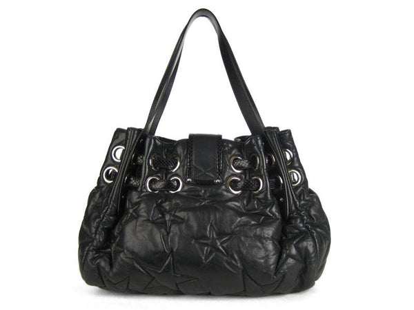 Jimmy Choo Black Star Ramona
