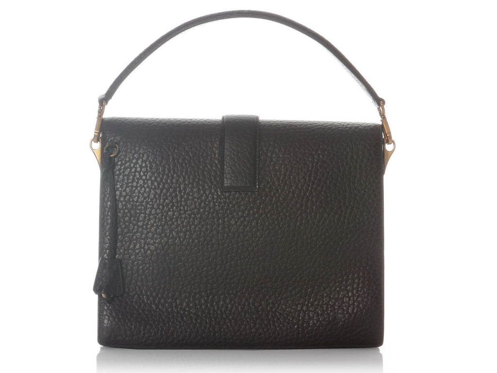 Prada Medium Burgundy Berlino Sound Flap