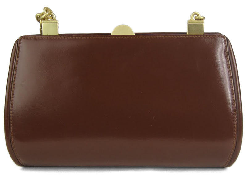 Kieselstein-Cord Brown Clutch