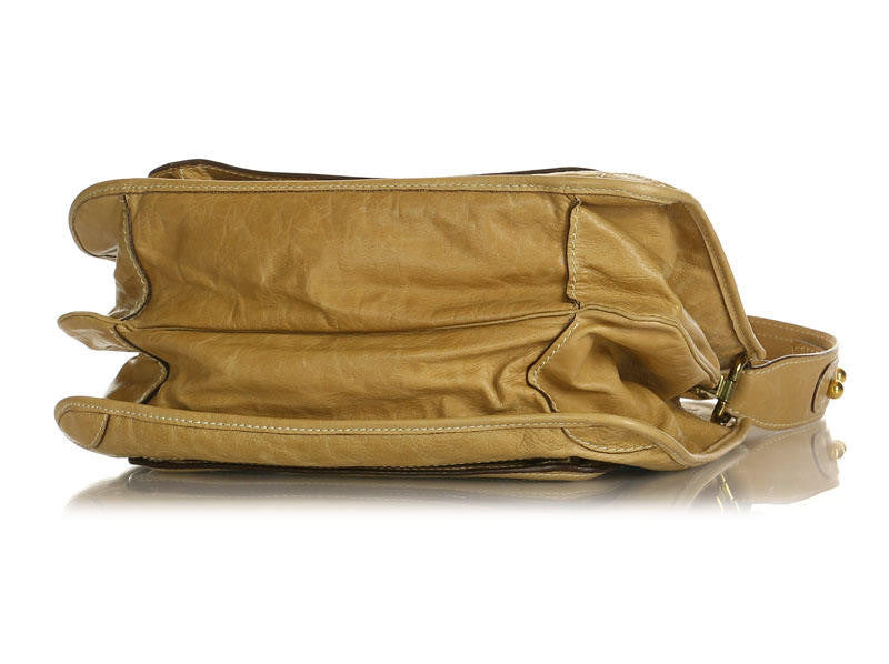 Chloé  Camel Bay Shoulder Bag