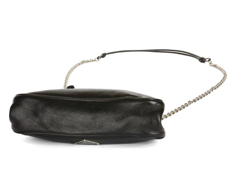 Prada Small Black Evening Bag