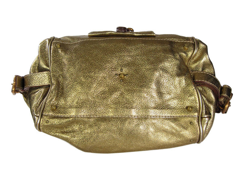 Chloé  Gold Front Pocket Paddington