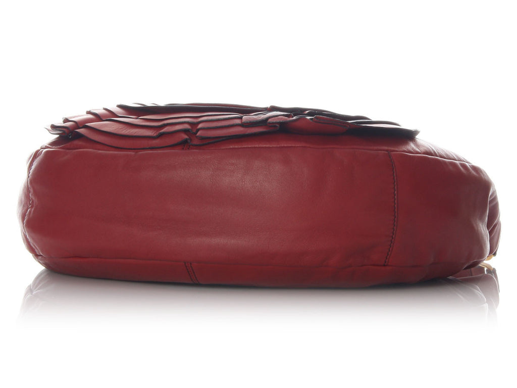 Valentino Red Petal Hobo Deluxe