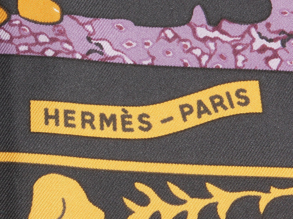 Hermès Early America Scarf
