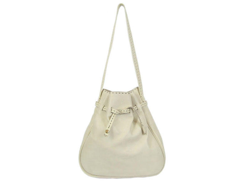 Henry Beguelin White Shoulder Bag