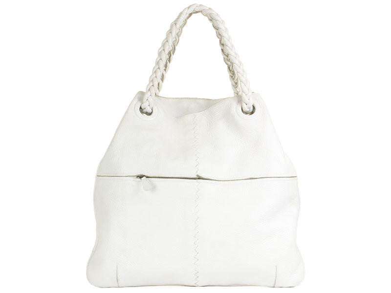 Bottega Veneta Large White Julie Tote